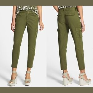 NWT Kate Spade New York Slim Cargo Cropped Pants